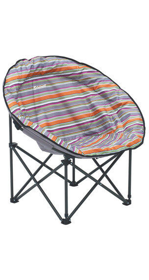 Outwell Trelew Summer - Siège camping - orange/bleu